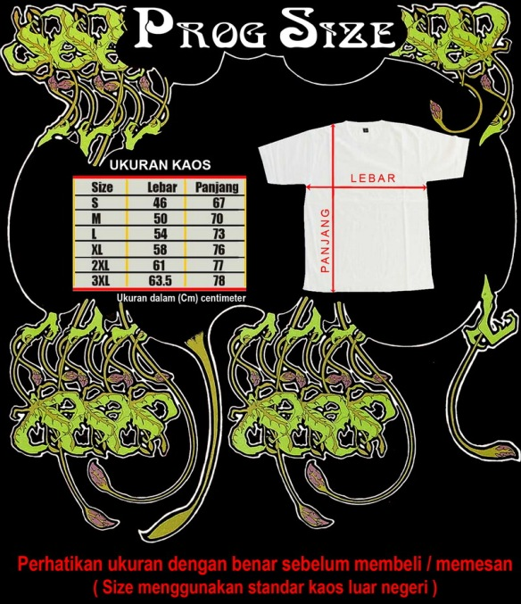 Size Kaos Progressive Rock
